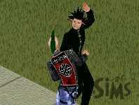 Dancing Goth Sims