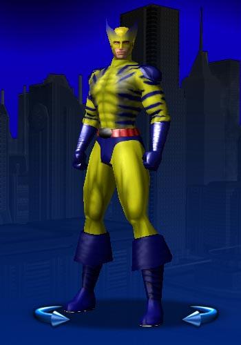 Insurance Salesman cosplaying as Wolverine