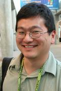 Dean Takahashi at the Game Developer's Conference, March 2003