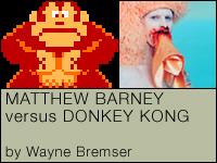 Barney versus Donkey Kong