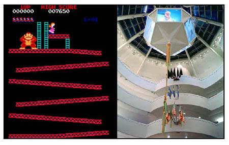 Donkey Kong versus the Guggenheim