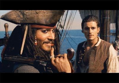 Yes - it has Johnny Depp *and* Orlando Bloom.